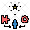 Experience Skill Star Icon