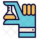 Science Kids Flask Icon