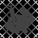 Experiment Bunny Animal Icon
