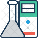 Experiment Server Computing Icon