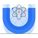 Physics Science Magnet Icon