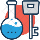 Flask Key Access Icon