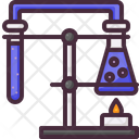 Chemical Experiment Research Icon