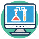 Science Experiment Online Icon