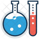 Laboratory Apparatus Test Icon