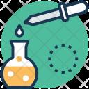Sample Dropper Medicine Icon