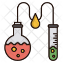 Chemical Analysis Experiment Icon