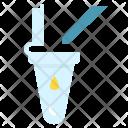 Laboratory Pipette Test Icon