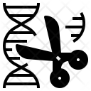 Gene Target Editing Icon