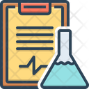 Experiment Results Feedback Test Icon