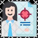 Expert Target Presentation Target Icon