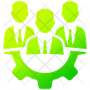 Expert Team Business Office Icon