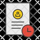 Expiry Timesensitivedocument Account Icon