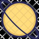 Exploration Orbit Planet Icon