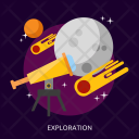 Exploration Space Universe Icon