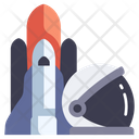 Exploration Science Space Icon