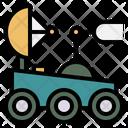 Exploration Robot Land Rover Icon