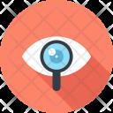 Explore Eye Glass Icon
