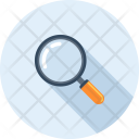 Explore Glass Magnifier Icon
