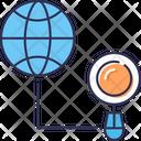 Explorem Explore Globe Icon