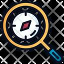 Explore Search Magnifier Icon