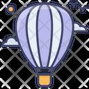 Explore Balloon Hot Icon