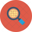 Explore Global Magnifier Icon