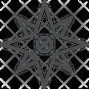 Discover Compass Illumination Icon