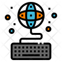 Explore Keyboard Online Icon