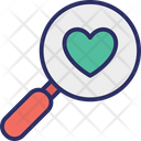 Exploring Love Find Partner Heart Icon