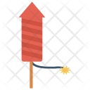 Explosion Rocket Firework Icon