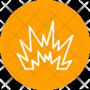 Blast Explosion Bomb Icon