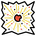 Eruption Explosive Explosion Icon