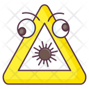 Explosive Sign Bomb Sign Explosive Symbol Icon