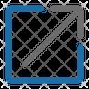 Export Arrow Photo Icon