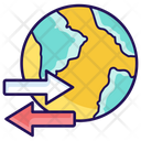 Export Import Import Export Icon