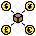Export Currency Commercial Icon