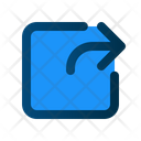 Export File Share Icon