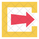 Export Sign Out Log Out Icon