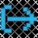 Export Close Arrow Icon