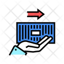 Container Carrying Color Icon