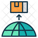Export Ship Goods Icon