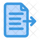 Export Document Export Export File Icon