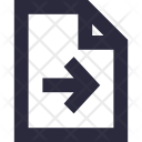 Export File Icon