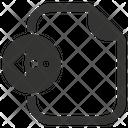 Import File Document Icon