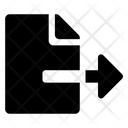 File User File Export Icon