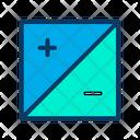 Equivalent Pluse Minus Sign Explorer Icon