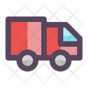 Express Delivery Truck Truck Icon