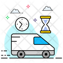 Express Service Fast Delivery On Time Delivery Icon
