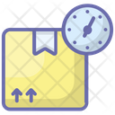 Express Delivery Timely Delivery Fast Delivery Icon
